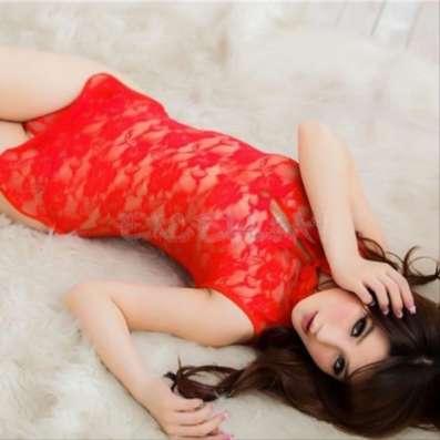 Красное мини-платье платье (кимоно) Эротическое белье