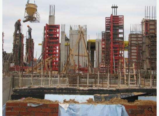 Строительство монолитных колонн в Москве Фото 1