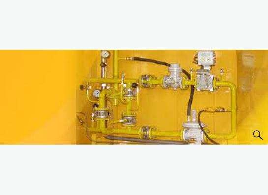 Шкаф ГРПШ,сигнализаторы,фильтры,клапаны.Учёт-контроль газа в Твери Фото 1