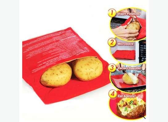 Мешок  для запекания картошки в микроволновой печи
