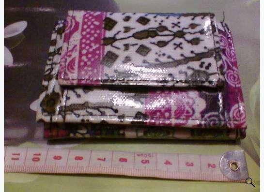 цветной кошелек, женский для маленькой сумочки