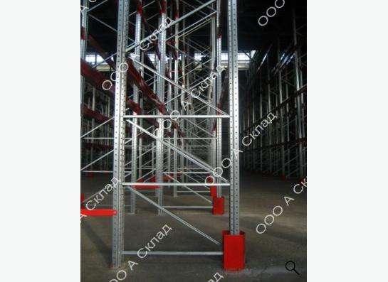 Рама металлическая для складских стеллажей.