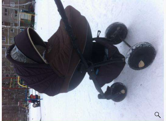 Детская коляска 2 в 1 Tutis Zippy + развивающий коврик в Екатеринбурге Фото 1