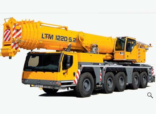 Аренда автокрана 220 тонн 60(103) метров Liebherr LTM 1220