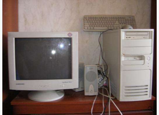 Простой работающий компьютер для ребенка или пенсионера