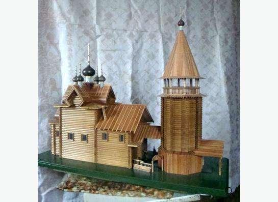 Модели храмов и соборов России.