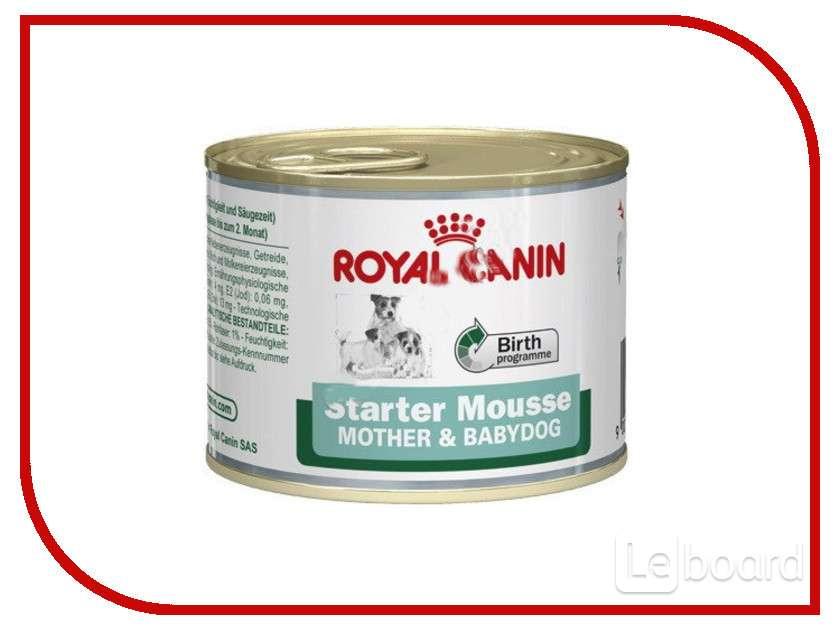 Консервы корм royal canin starter mousse